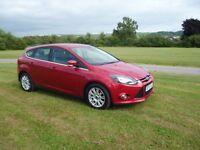 Ford Focus 2.0 TITANIUM TDCI DIESEL PEPPERPOT RED LOOK LOOK