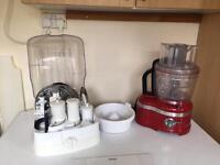Artisan KitchenAid food processor.