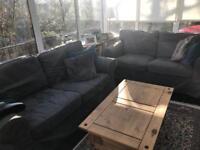 2 Ikea EKTORP two seater sofas