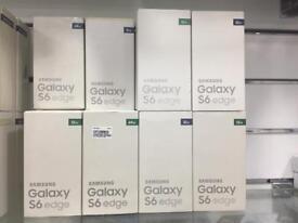 Samsung galaxy s6 edge UNLOCK BOXED
