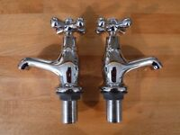 Chrome Bath Taps