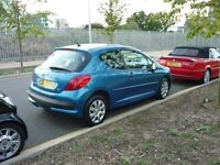 Peugeot 207 Mplay 3dr (blue) 2007
