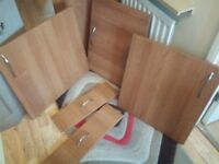 B&Q kitchen cabinet doors and drawer fronts
