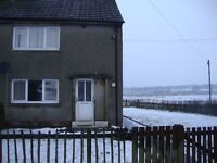 Newly decorated 2 bedroom house for rent in Auchengray