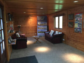 PINE LOG CABIN - OFFICE/CARAVAN/HOME/