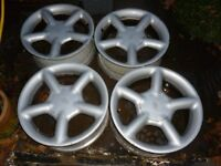 FORD MONDEO MK2 16 INCH ALLOYS 4 STUD COSWORTH STYLE