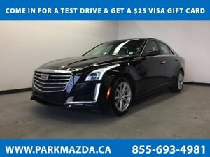2017 Cadillac CTS 2.0 Sedan RWD - Bluetooth, Remote Start, Backu