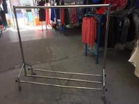 Chrome Clothes Rail