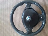 Bmw MSport pre LCI e39 steering wheels with airbag