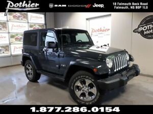 2016 Jeep Wrangler Sahara | 6.5 TOUCHSCREEN | HEATED MIRRORS | R