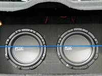 Twin subwoofer