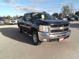 2008 Chevrolet SILVERADO 2500HD LTZ,DIESEL,LEATHER,DVD,SUNROOF!!