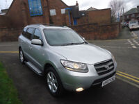 2007 HYUNDAI SANTA FE CDX CRTD AUTOMATIC (7)SEATS FULL LEATHER SEATS COME WITH 12 MONTHS MOT