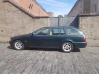 2002 02 reg BMW 5 Series 2.5 525d 5dr, Manual, Saloon, Diesel, 104,061 miles. Green
