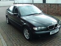 2002 02 BMW 318 2.0 SALOON ** ONLY 86500 MILES ** 12 MONTH MOT **