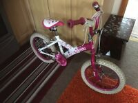 Glamour Sonic Girls 16inch wheel bike