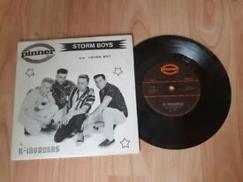 X - invaders - storm boys 80s rockabilly