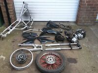 honda xr 125 2006 model spares or repairs