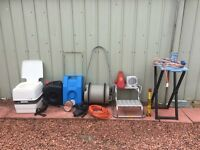 caravan accessories job lot