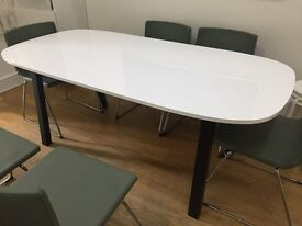 Ikea dining table- Vastana underframe/Oppeby table top Brand New Boxed