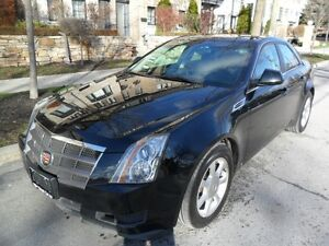2009 Cadillac CTS CERTIFIED, LOW KMS, LEATHER, 1A CONDITION