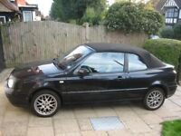 VW Golf Cabriolet C-CON CONVERTIBLE Registered in 2000