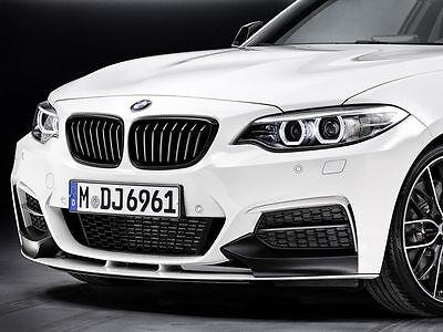BMW Genuine M Performance Front Splitter Black Matt F22 2 Series 51192343367