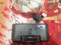 Sony ICF C1iPMK2 iPod/iPhone dock