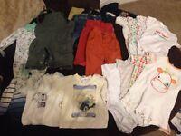 Boys clothes bundle 0-3