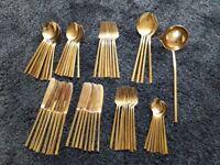 Habitat Bronze Cutlery set from Thailand