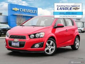 2015 Chevrolet SONIC 5-DOOR LT LT