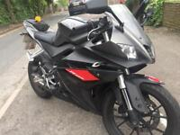 MINT condition 2014 Yamaha Yzf r125 new shape with low mileage at 6k