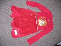Disney Belle red fancy dress/ nighty for girl 6-7 years. Very good condition.
