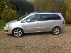 Zafira very low miles only 17,500 One owner
