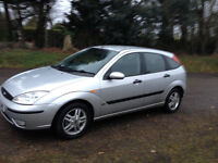 FORD FOCUS 1.6 ZETEC 1 OWNER SINCE 2006-STUNNING CLEAN CAR WITH LONG MOT-WE CAN DELIVER TO YOU