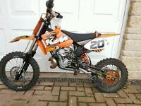 KTM 50 SX KIDS RACE MOTOCROSS BIKE