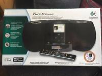 Logitech Pure-Fi Dream music system for iPod/iPhone