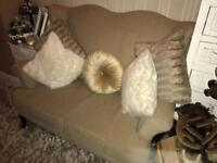 High back/ chesterfield/ wing back 2 seater sofa