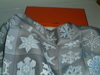 HERMES COLLECTORS SILK SCARF