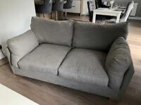 3 seater sofa from next in grey