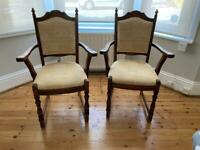 Antique Chairs real wood £30 each