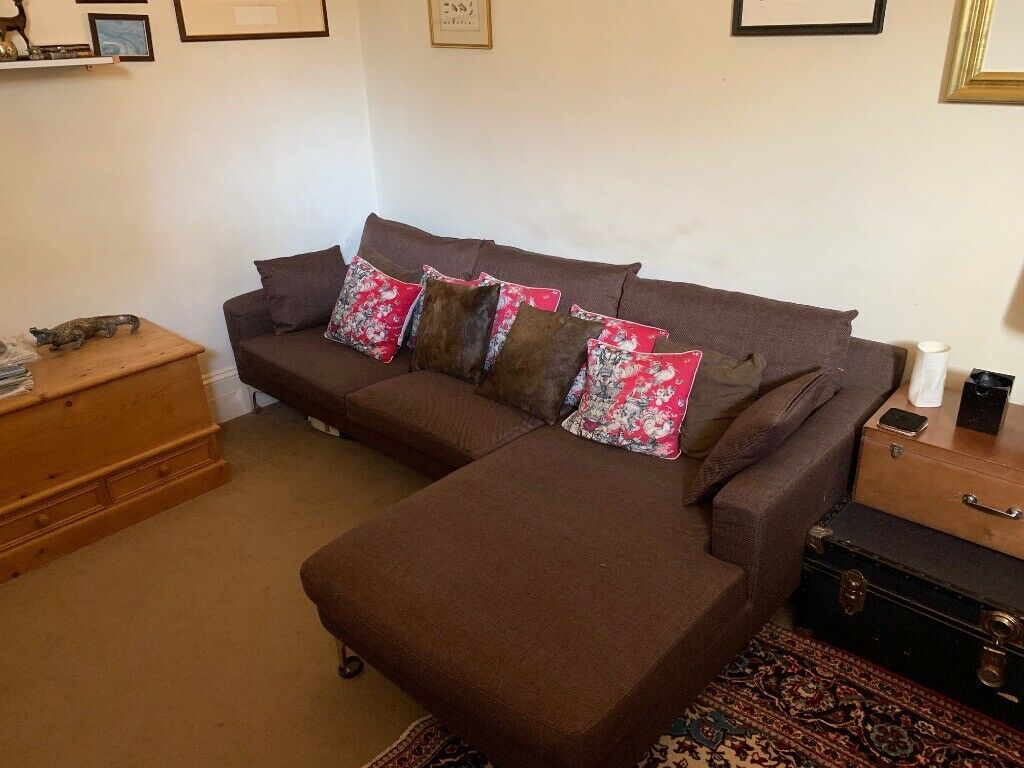 best loved bfc8b 1834d Monterosso L Shaped Corner Sofa in Brown from MADE | in Earls Court, London  | Gumtree