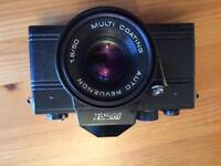 Vintage camera Revue Made In German Democratic Republic With Extra Russian Lens And Extras