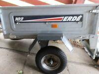 Erde 102 small trailer