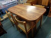 Superb Retro Dining Table & 4 Chairs