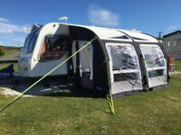 Bailey Unicorn Cadiz S2 2013 complete with 2 awnings & all extras priced for quick sale