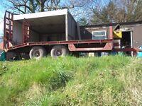 Agricultural 10 Tonne Low Load Trailer