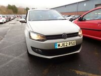 VOLKSWAGEN POLO 1.2 60 Match 3dr (white) 2012