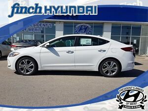 2017 Hyundai Elantra Limited LIMITED AUTOMATIC SEDAN