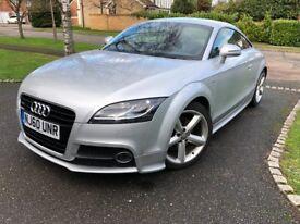 Audi TT S Line 2.0L TSFI - Silver, 49000, £9995